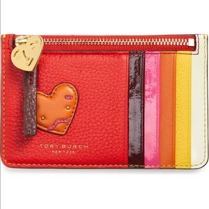 Tory Burch | Perry Patchwork Hearts Wallet